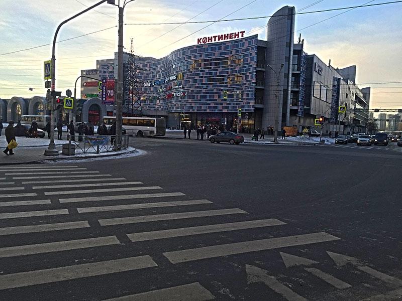 Магазин мужского белья в ТРК «Континент»