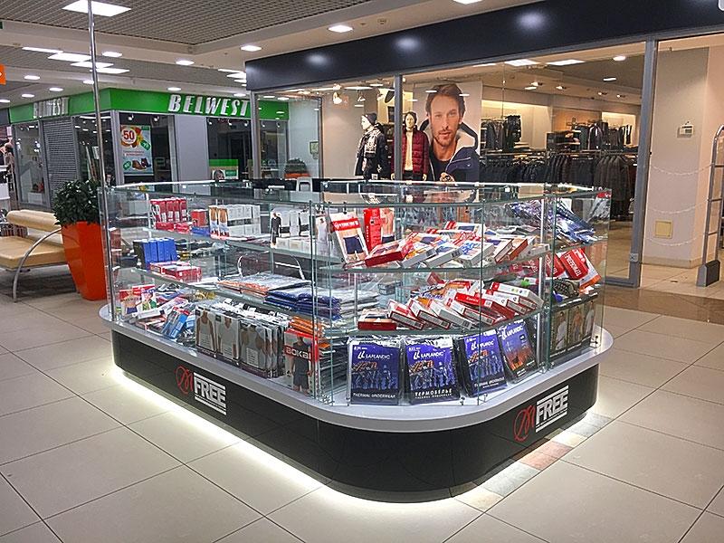 Магазин мужского белья в ТК «Южный полюс»